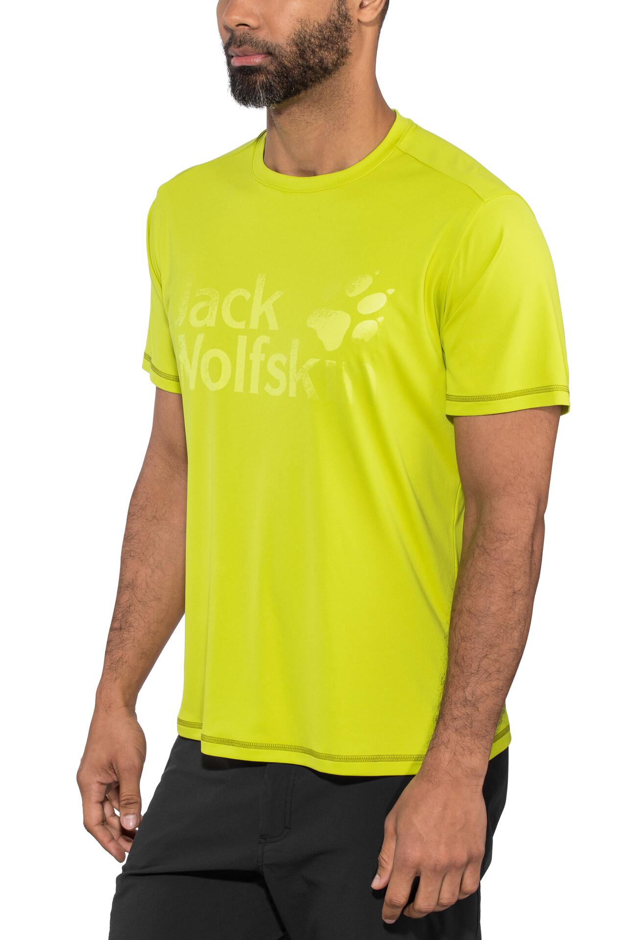 T Sierra Wolfskin Jack Shirt green Herren lime 54ARL3jcq